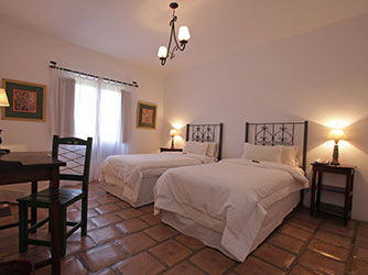 Rooms of Hotel La Merced del Alto