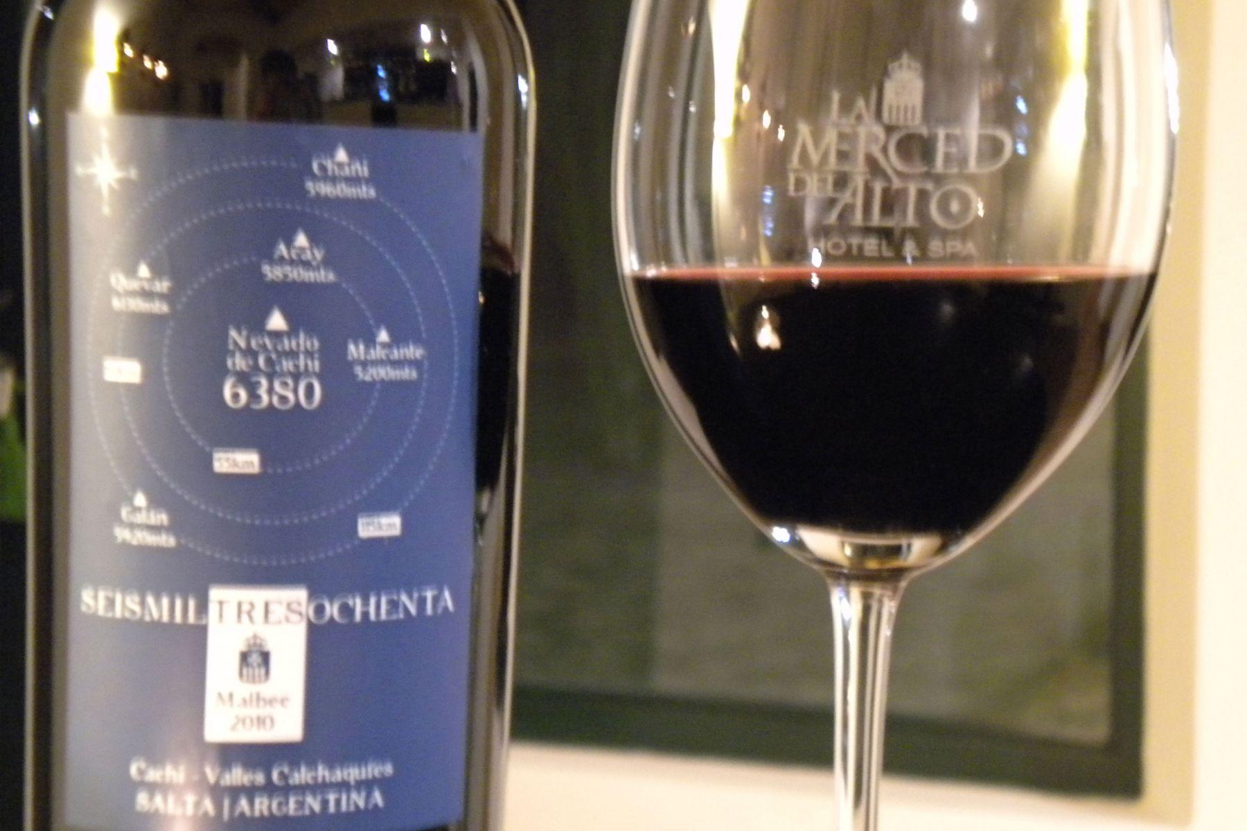 Degustación de vinos de altura